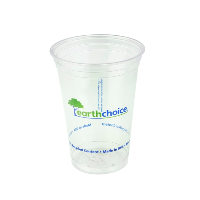 EarthChoice 20oz RPET Clear Prntd Cup