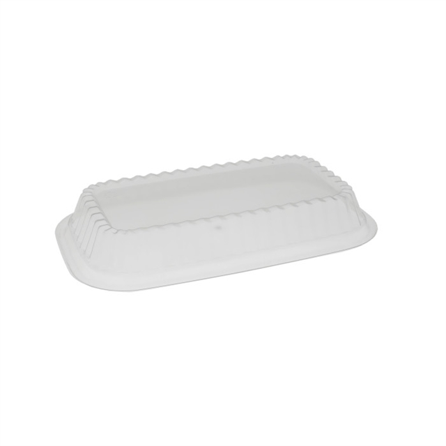 OPS DOME SHALLOW LID-MEDIUM PLATTERS-CL