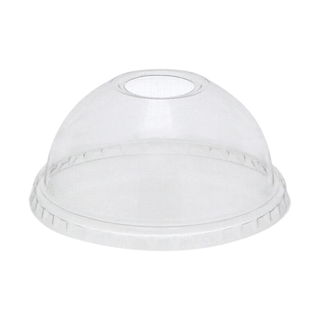 Dome Lid w/ Hole 9/12-14/16Tall/20 oz