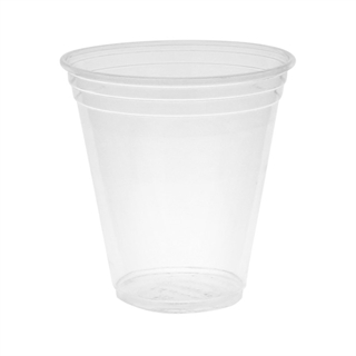 12-14 oz Compostable Cold Cup, Clear, 680 ct.