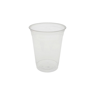 16 oz Compostable Cold Cup, Clear, 696 ct.