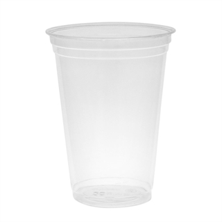 20 OZ CLEAR PLA CUP 10/60