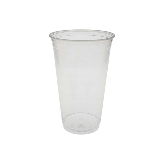 24 OZ CLEAR PLA CUP 6/58