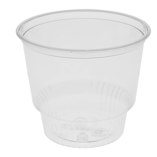 12 oz. Recycled Plastic Sundae Cup, Clear, 1,000 ct.