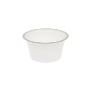 1 oz. Short Plastic Portion Cup, Translucent, 4,750 ct.