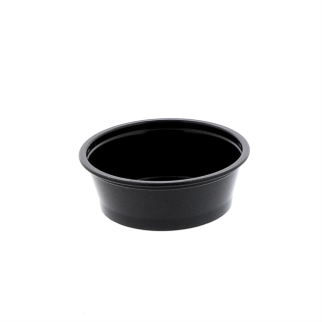1.5 OZ EBONY CUPS 12-200 BG