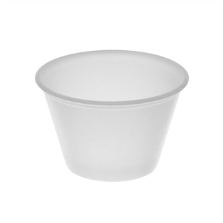 2.5 oz. Translucent Microwavable Portion Cup, 2400 ct.