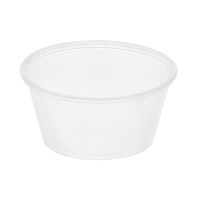 3.25 oz Portion Cup Clear 10-250 Bag