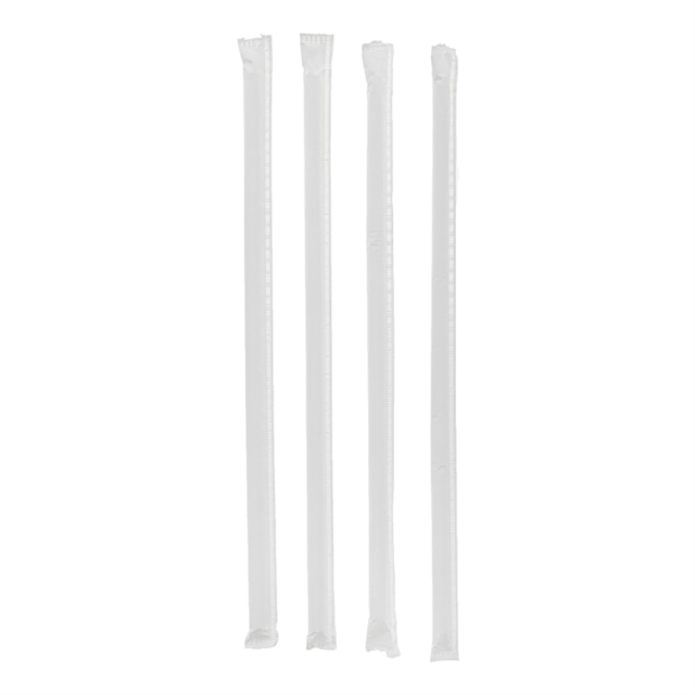 "10.25"" WRPD TRANS GIANT STRAW 6-300BX"