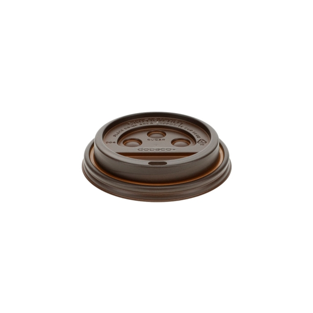 ST CL HOT 10SQ 10-24 BROWN DOME LID 1000