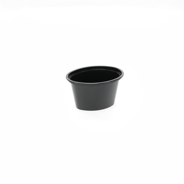 Ellipso 1oz Black Cup, 1000 count