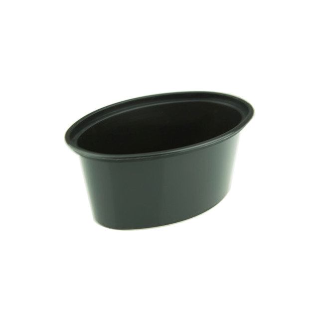 Ellipso 3oz Black Cup, 1000 count