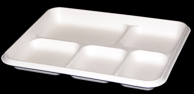 TRAY 5 SOPHMORE COMPART WHITE