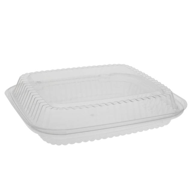 OPS HING LID MED LOW PROFILE-CLEAR