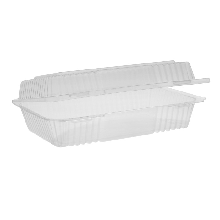 Yci820350000 Ops Clearview 1 Comp Hinged Lid Clear