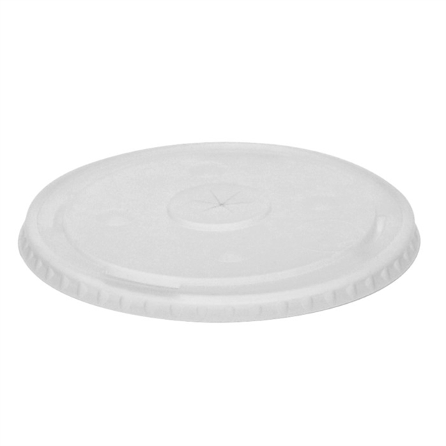 HIPS FLAT LID FOR R CUPS ROOT BEER 8-125